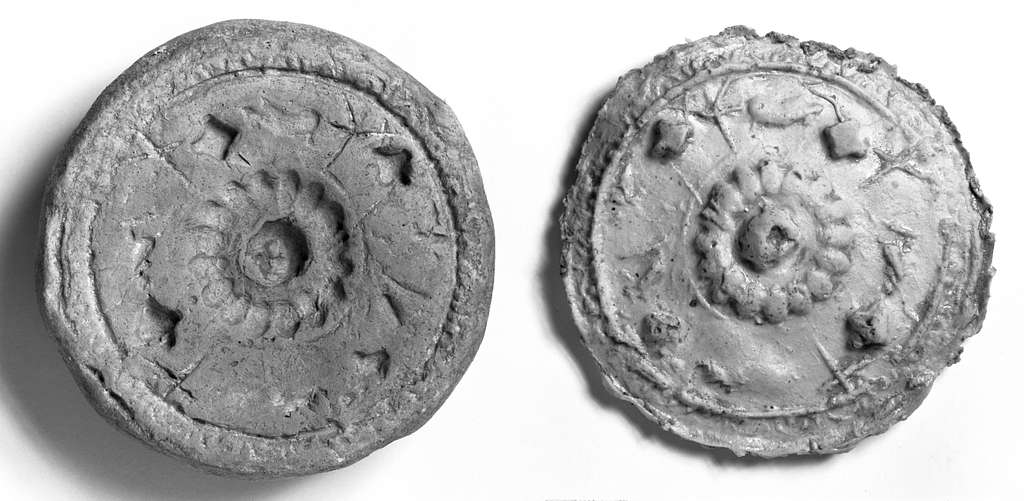 Mold for an Ornamented Disc