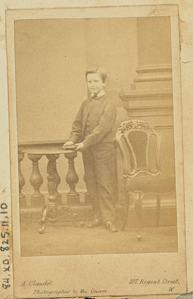 [Portrait of a young boy]