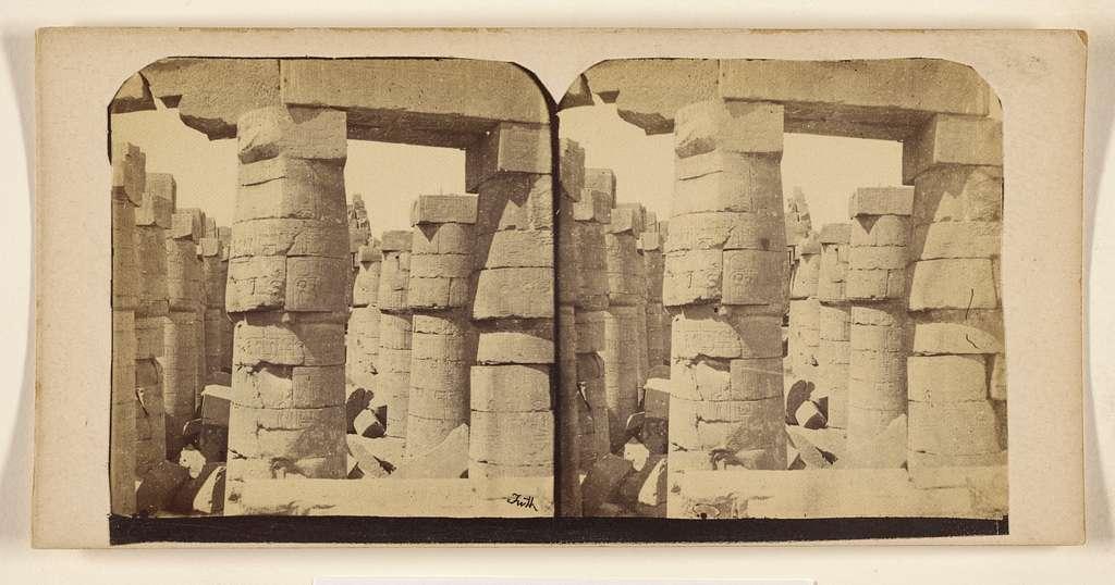 [The Temple of Rarnea. Thebes.]