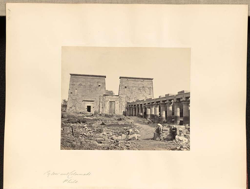 Pylon and Colonnade, Philae