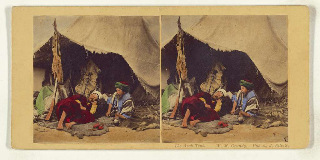 The Arab Tent.