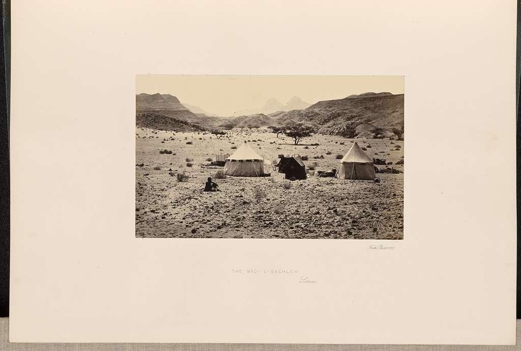 The Wadi-L-Baghleh, Sinai