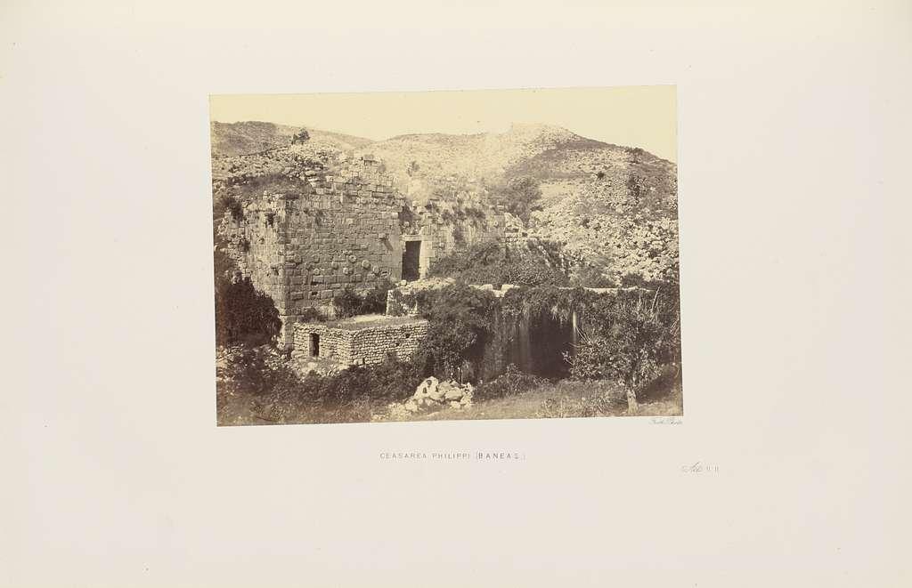 Ceasarea [sic] Philippi (Baneas)