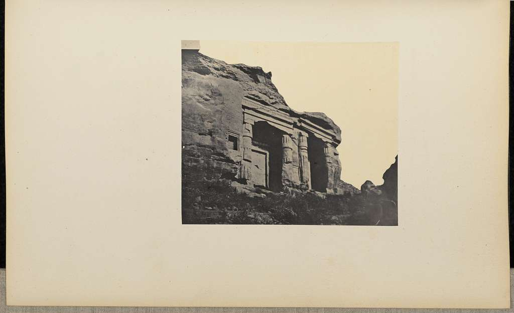 [Front facade of the Temple of Horemheb]