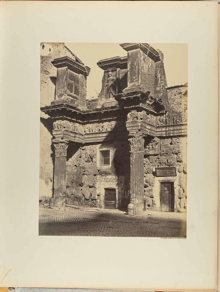 Le Temple de Minerva au Forum de Nerva