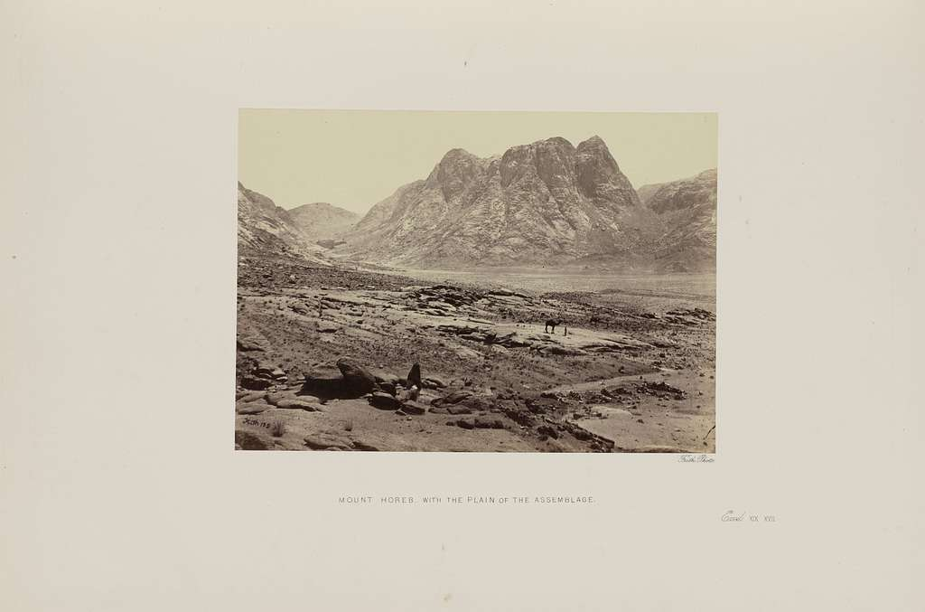Mount Horeb, with the Plain of the Assemblage
