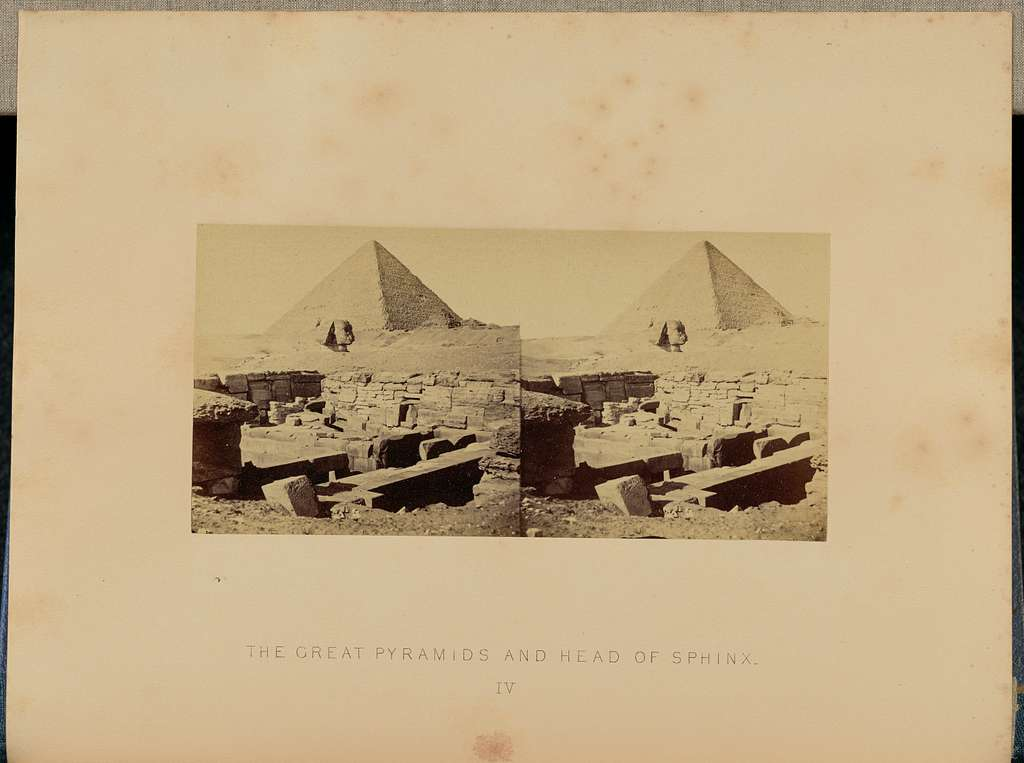 The Great Pyramids and Head of Sphinx