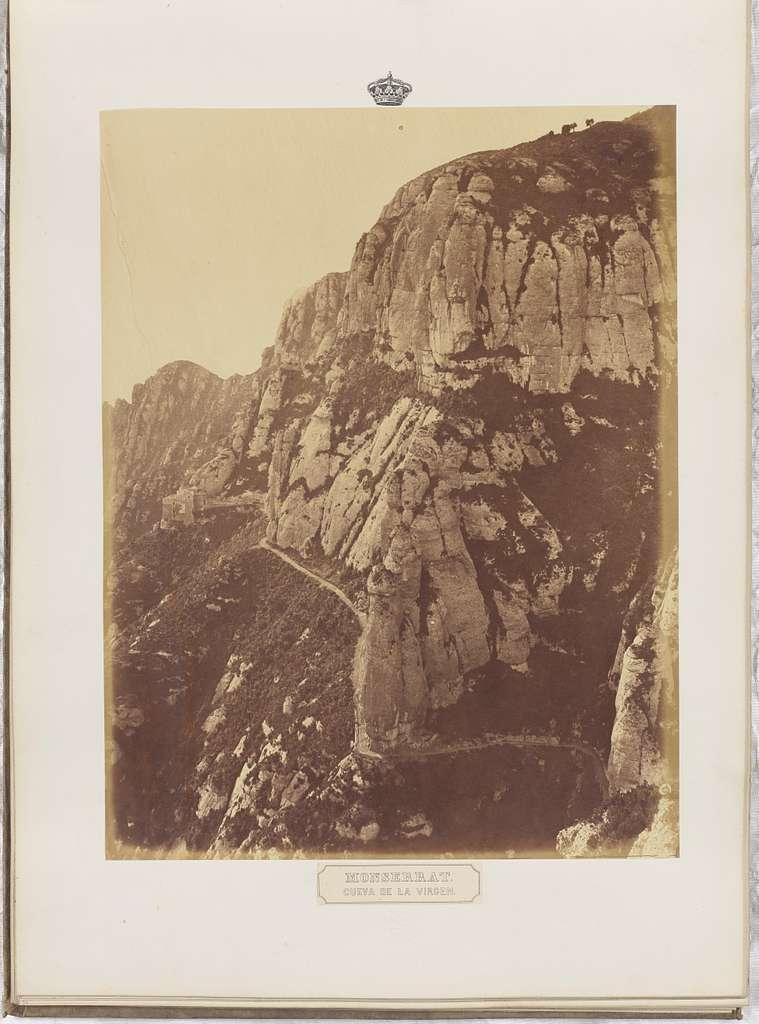 Monserrat. Cueva de la Virgen