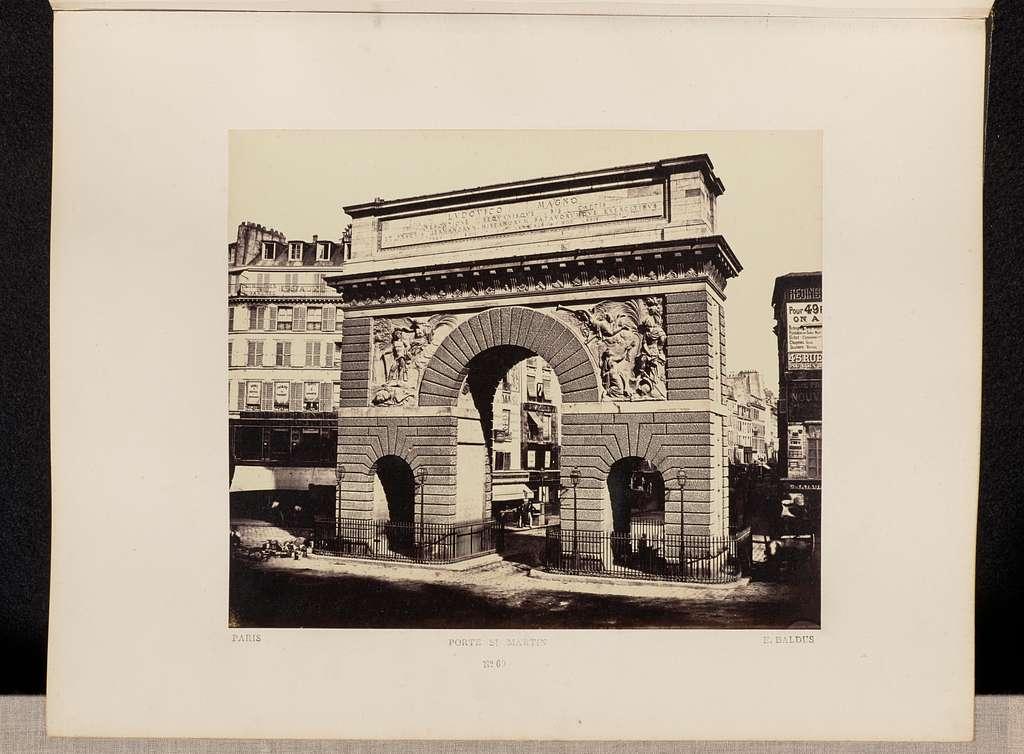 Porte St. Martin (No. 60)