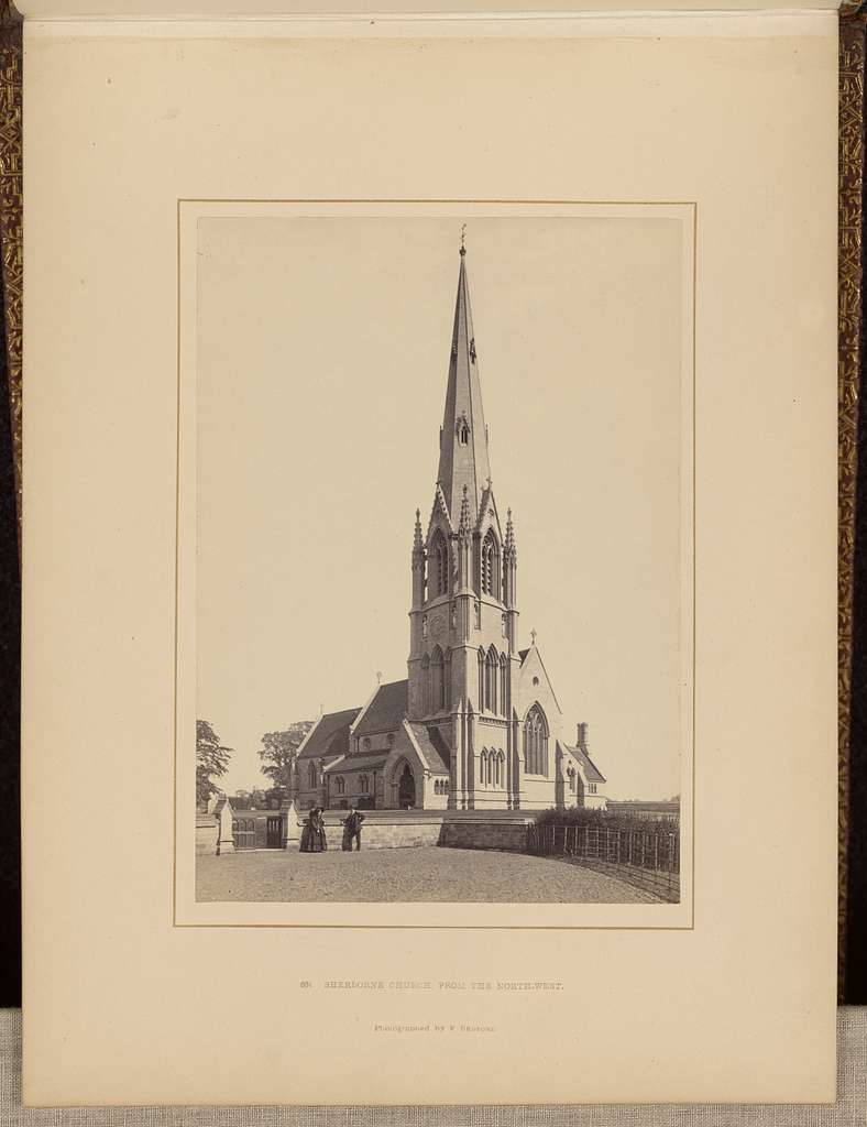 Sherbourne Church, from the north-west