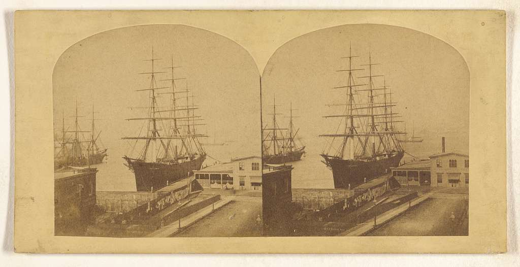 Steamship Great Eastern, Lying at the Dock foot of Hammond-Street, New-York.