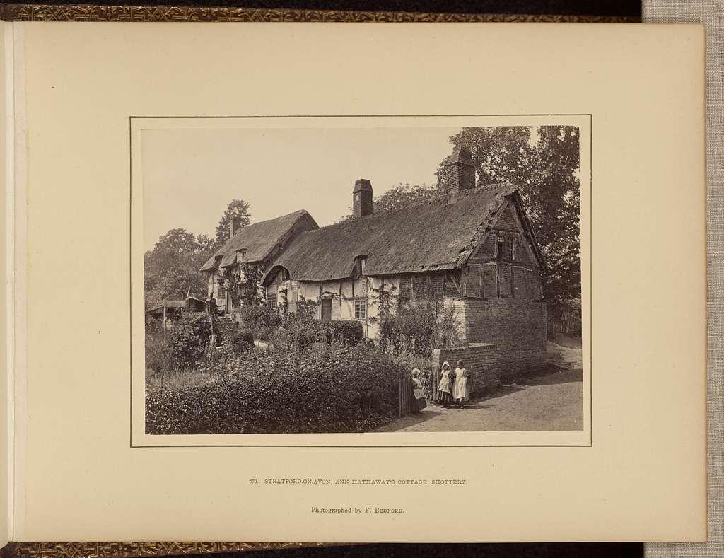Stratford-on-Avon, Anne Hathaway's cottage, Shottery