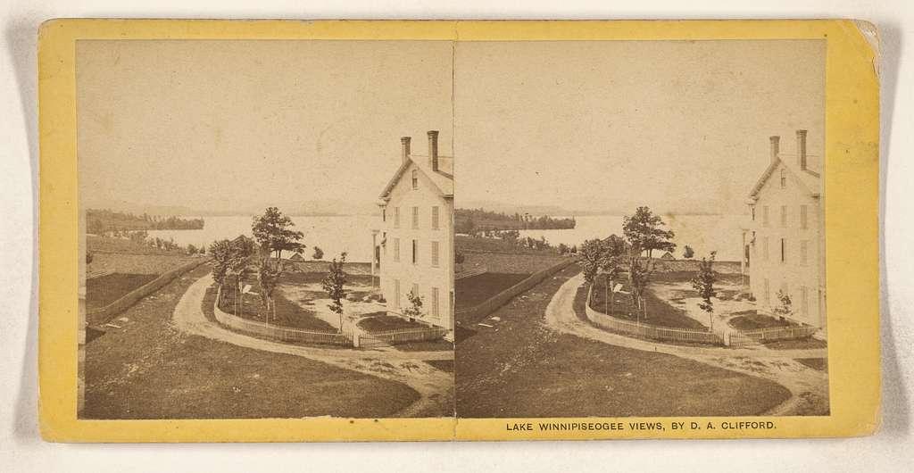 [View of Lake Winnipiseogee]