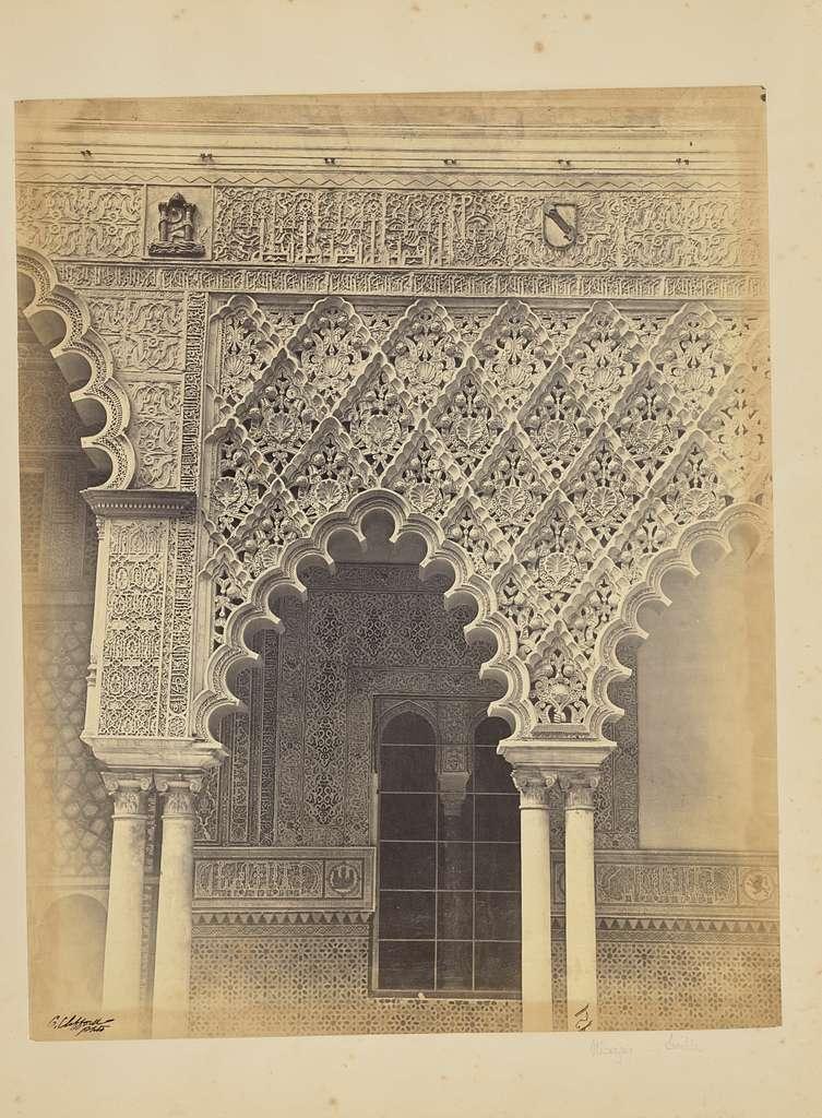 Alcazar Real de Sevilla. Detalles del Patio Principal