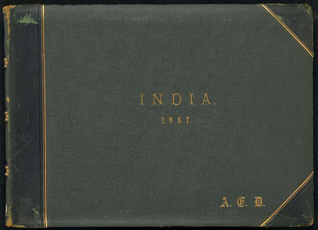 India. 1887. (cover title) [Views and architectural studies of India, 31 by Bourne, 10 by Bourne & Shepherd]