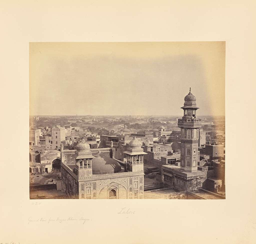 Lahore; From Wuzeer Khan's Mosque