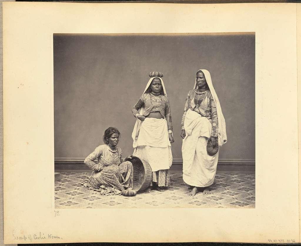 Group of Cooli Women