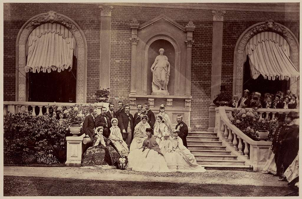 Group of the Royal Family of Orleans....