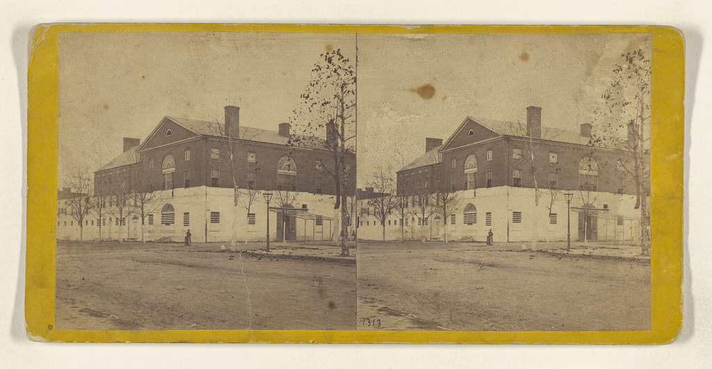 The Old Capitol Prison. [Washington, D.C.]