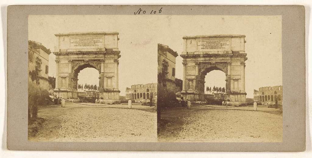 [Arc de Titus, a Rome]
