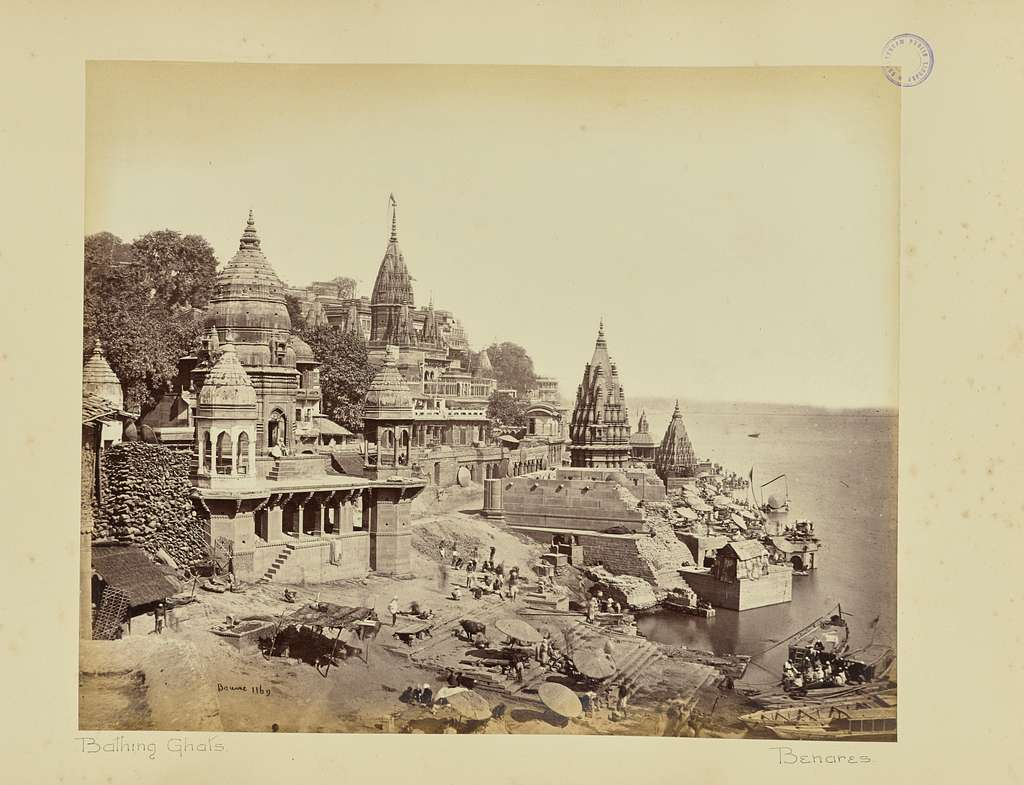 Benares; The Burning Ghat