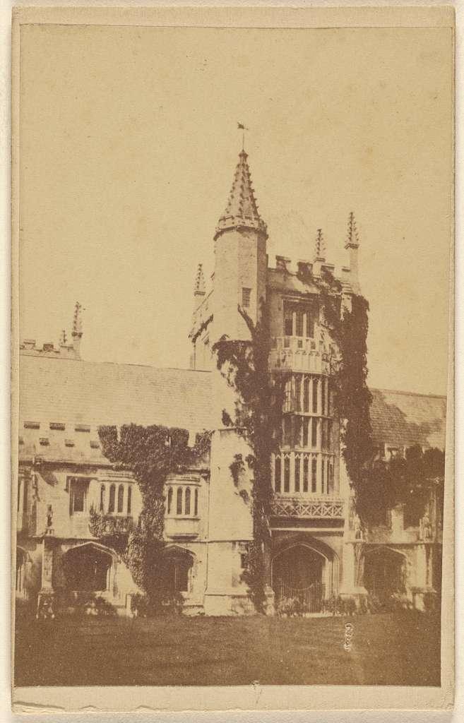 Cloister Tower. Magdalen College.