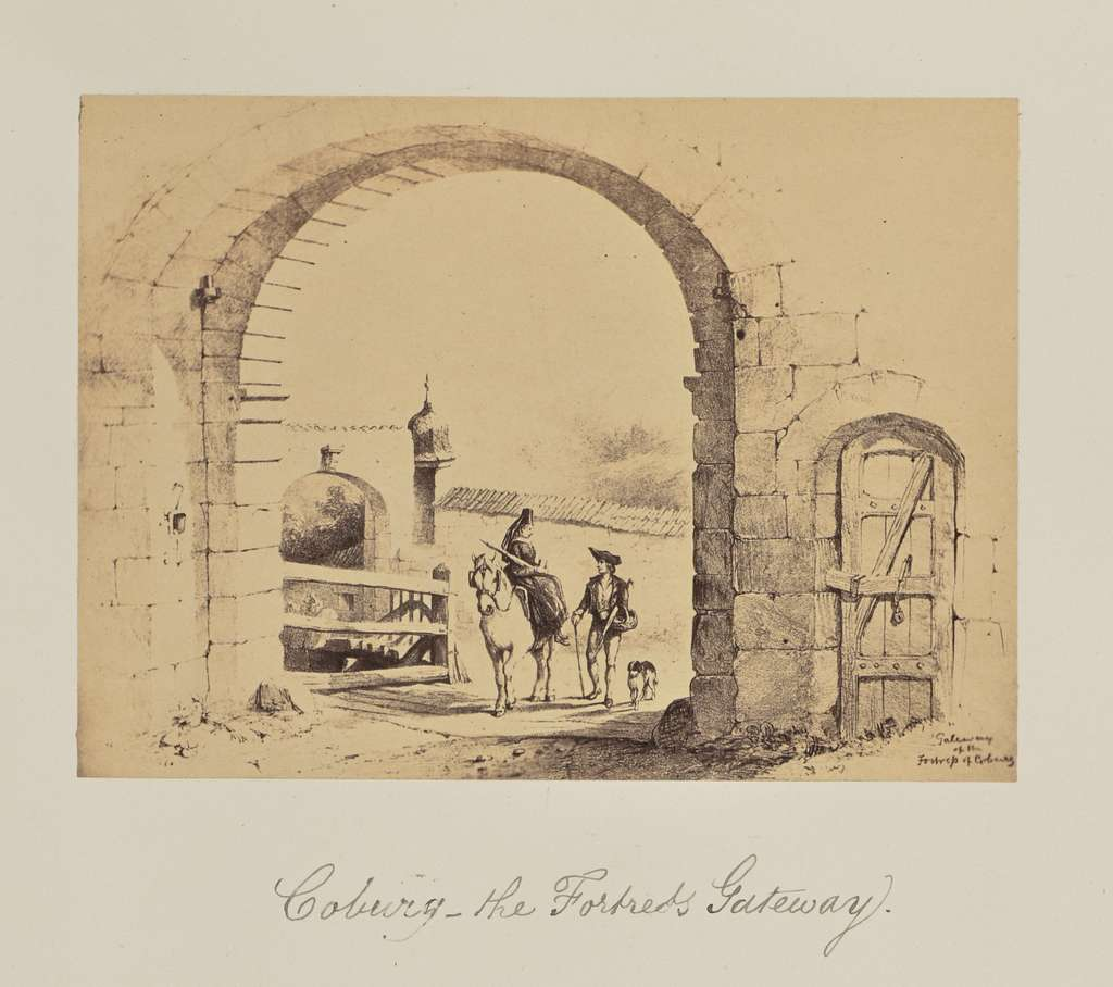 Coburg - the Fortress Gateway.