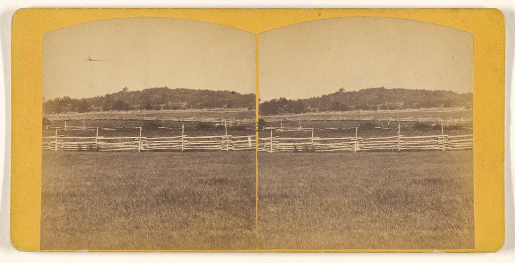 [Field with fences]