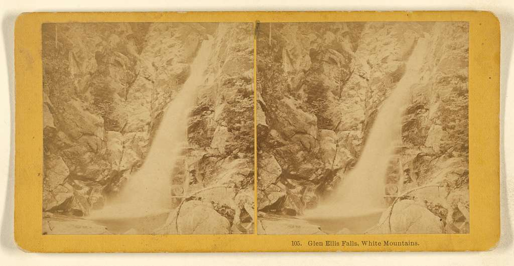Glen Ellis Falls, White Mountains.