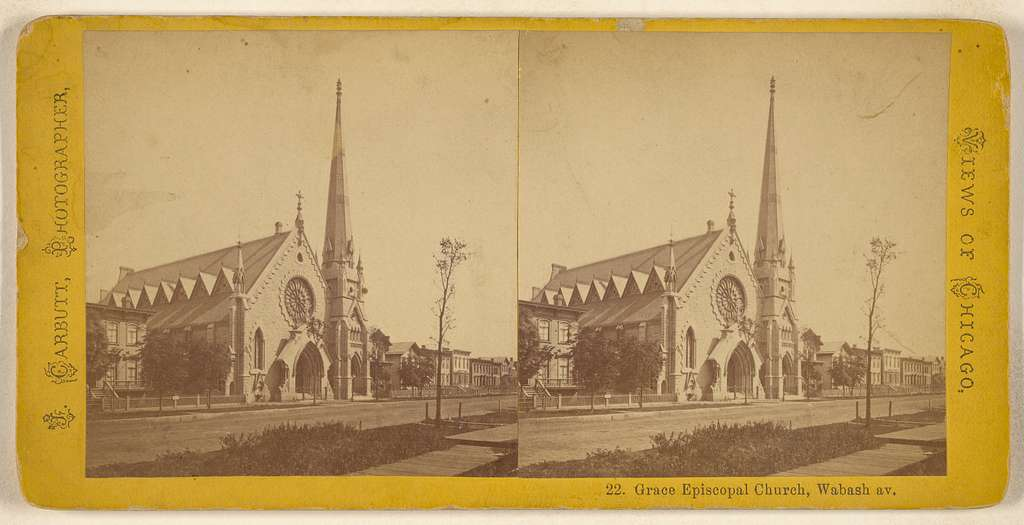Grace Episcopal Church, Wabash av. [Chicago]