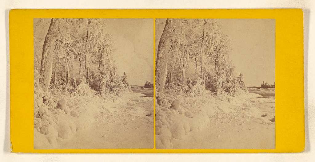 Ice Scene at Point View. [Niagara]