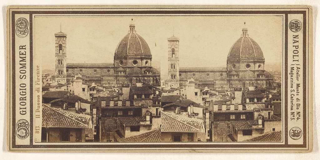 Il Duomo di Firenze.