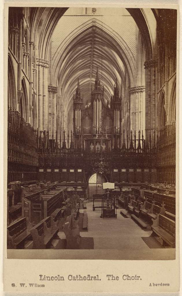 Lincoln Cathedral. The Choir.