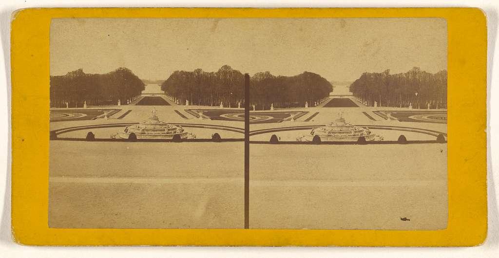 [Panorama du parc, Versailles]