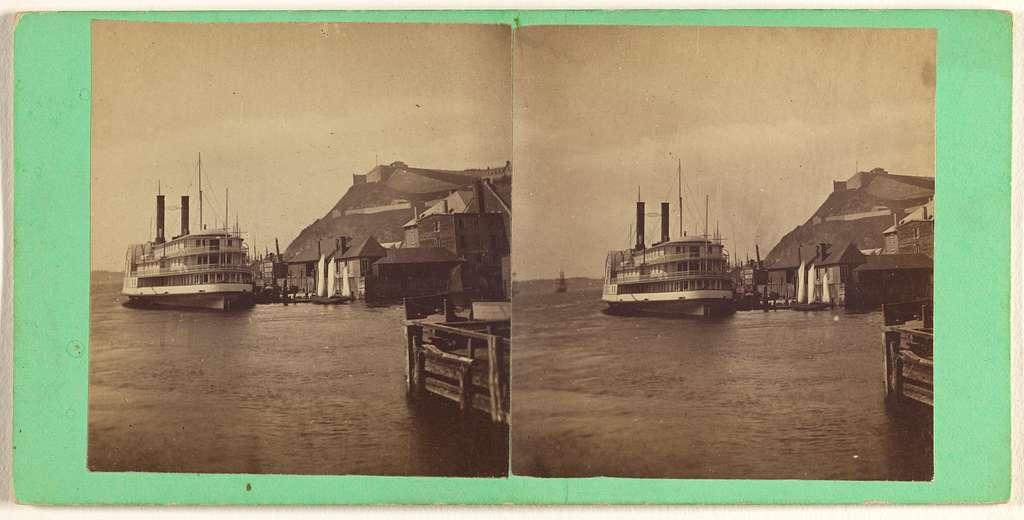 Quebec. Steamboat Quebec.