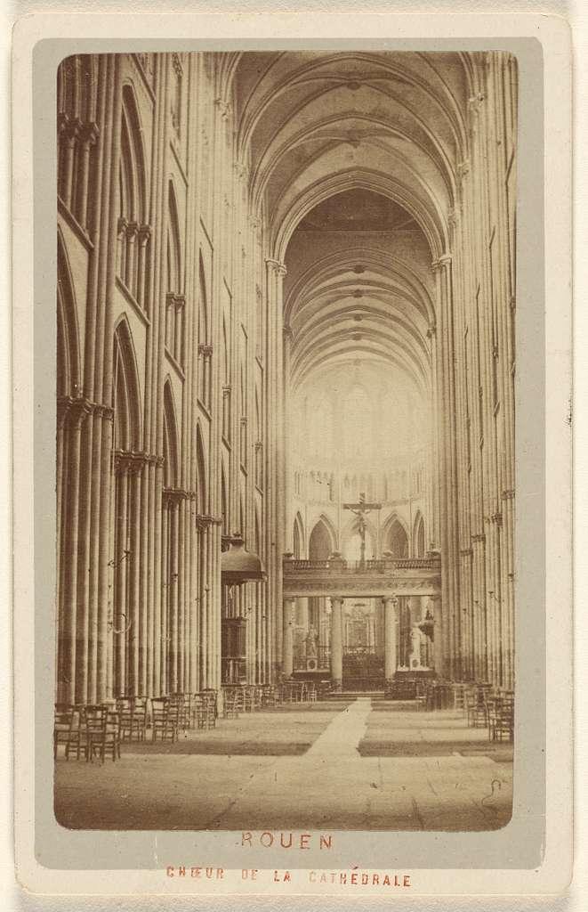 Rouen. Choeur de la Cathedrale.
