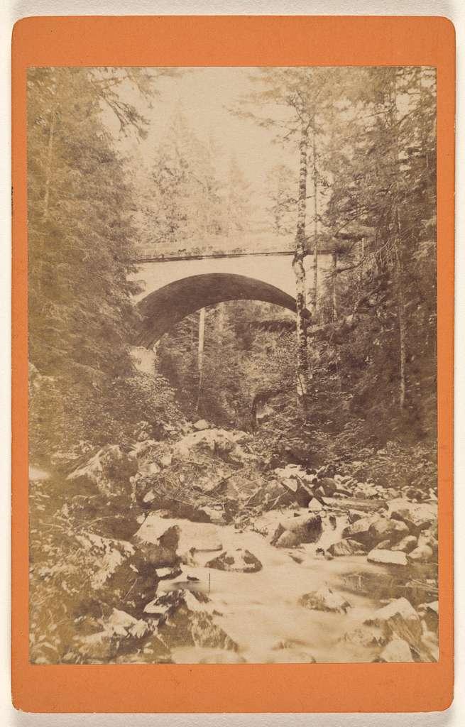 Sites des Voges. Environs de Gerardmer. - Le Pont de Vologne.