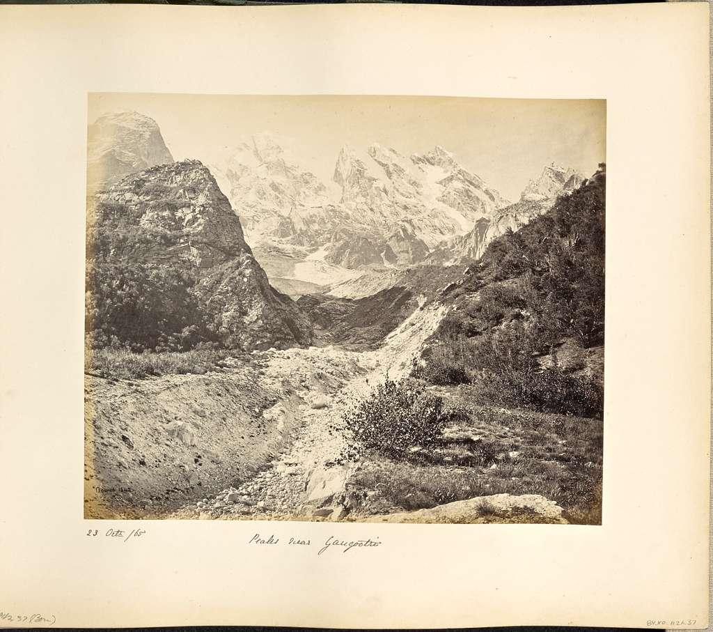 Snowy Peaks near the Gangootri Glacier