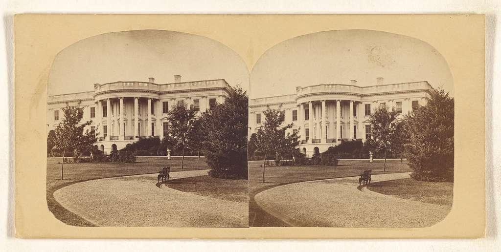 [South side of White House, Washington, D.C.]