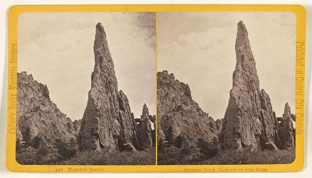 Steeple Rock, Garden of the Gods. [Manitou, Colorado]