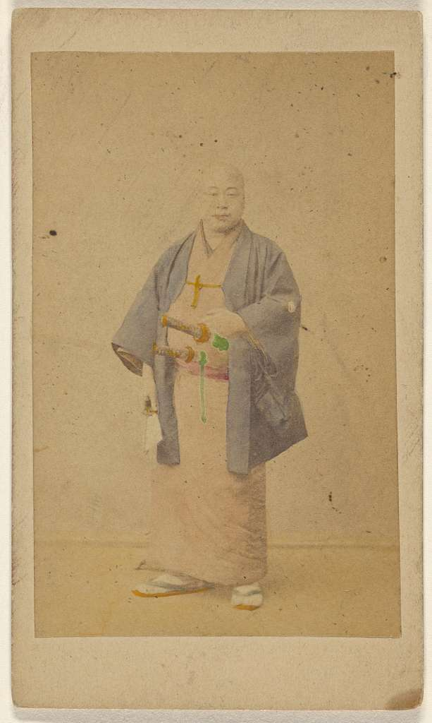 The Japanese Doctor, in outdoor Costume.