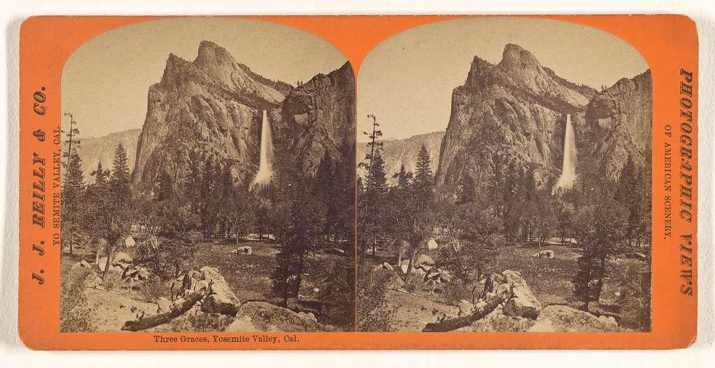 Three Graces, Yosemite Valley, Cal.
