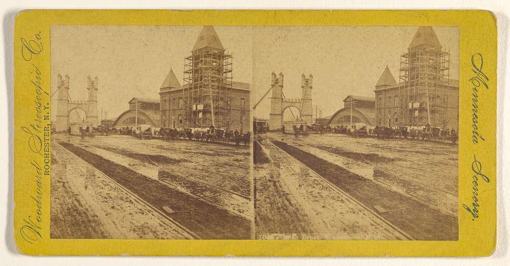 Train Depot, Minneapolis, Minn.