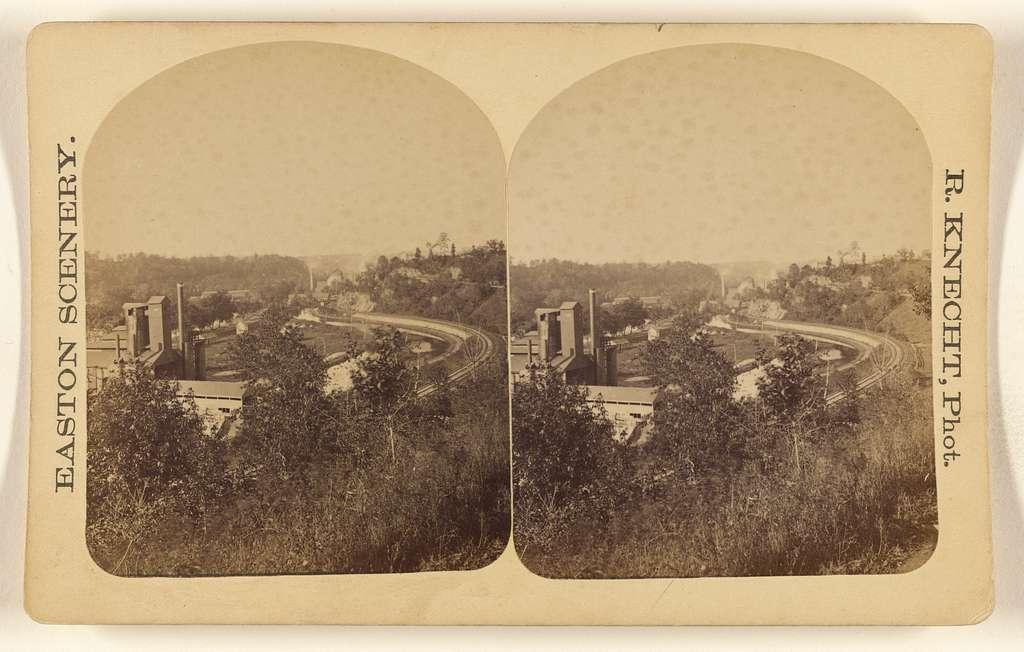 [Uhleis & Glendon Furnaces on Lehigh, Easton, Pennsylvania]