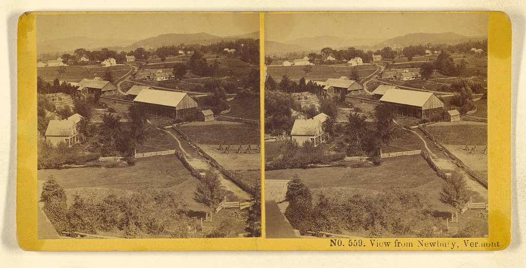 View from Newbury, Vermont