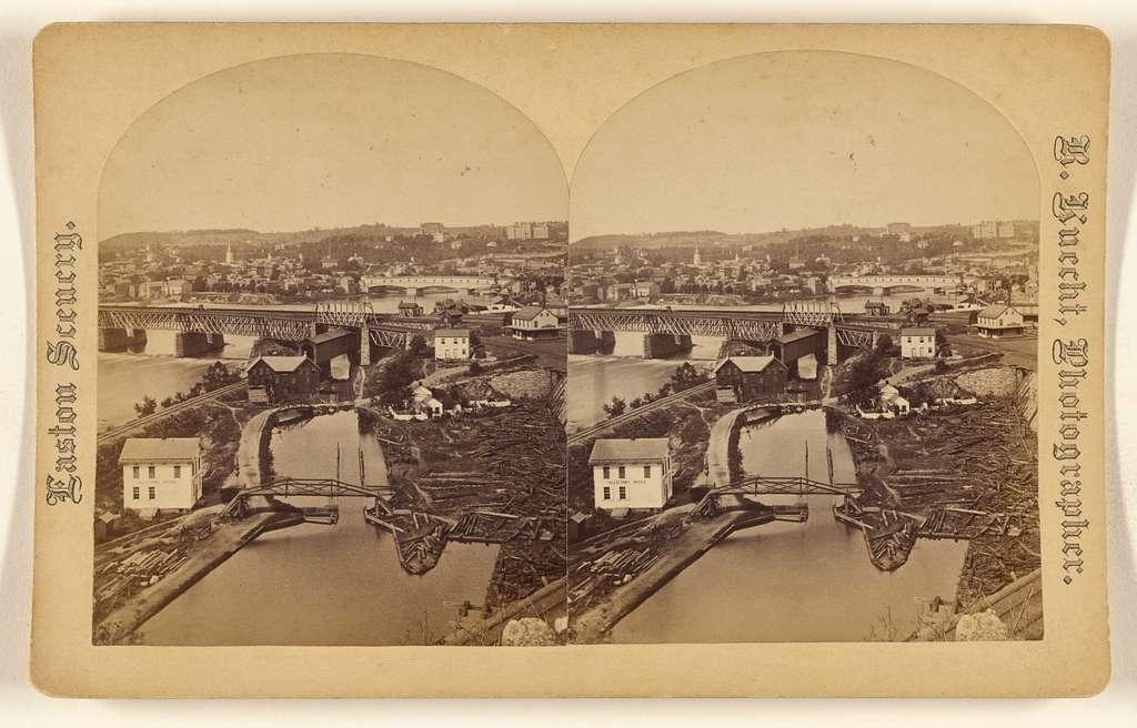 [View of Easton, Pennsylvania]