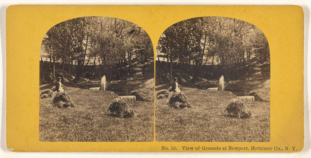 View of Grounds at Newport, Herkimer Co., N.Y.
