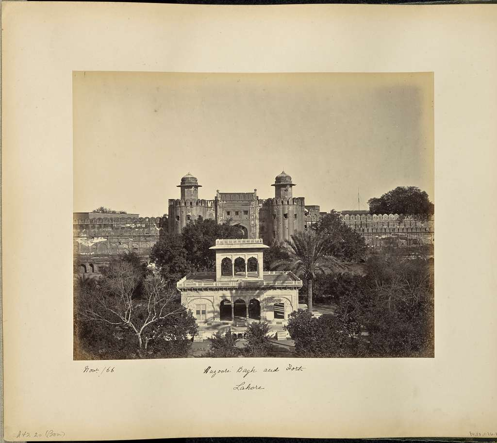 Lahore; Huzoori Bagh and Fort