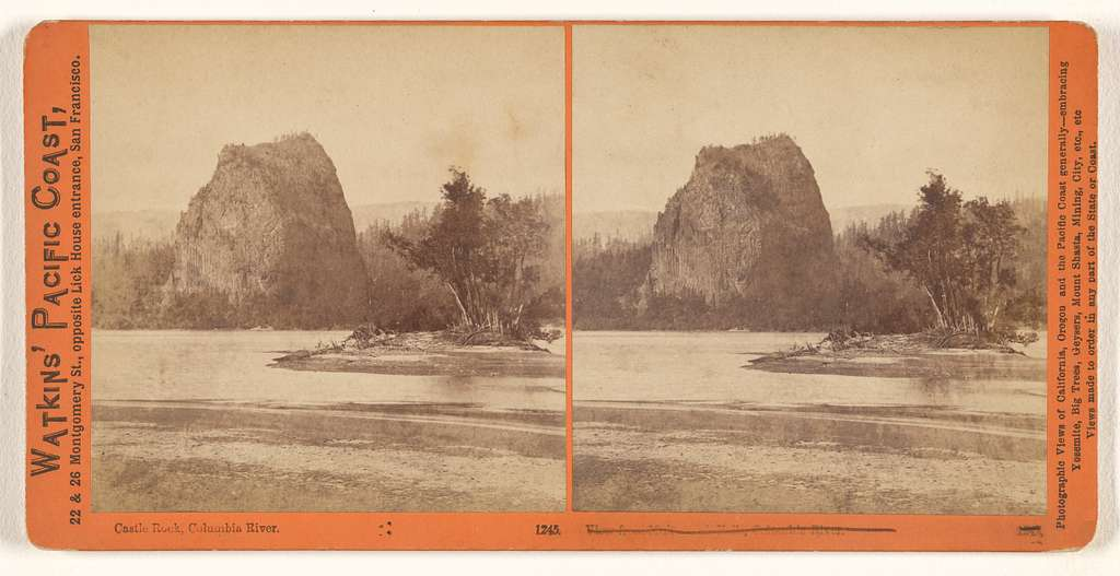 Castle Rock, Columbia River.