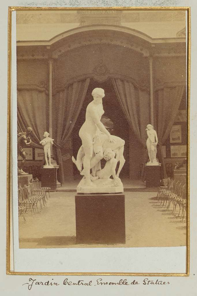 Jardin Central, Ensemble de Statues (No. 7)